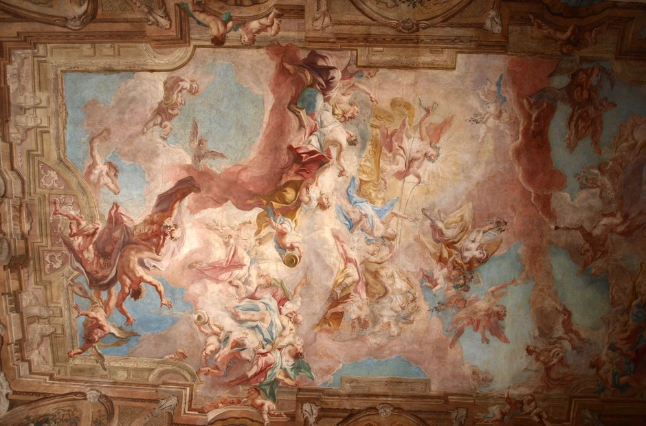 Clam Gallas Palace Prague
