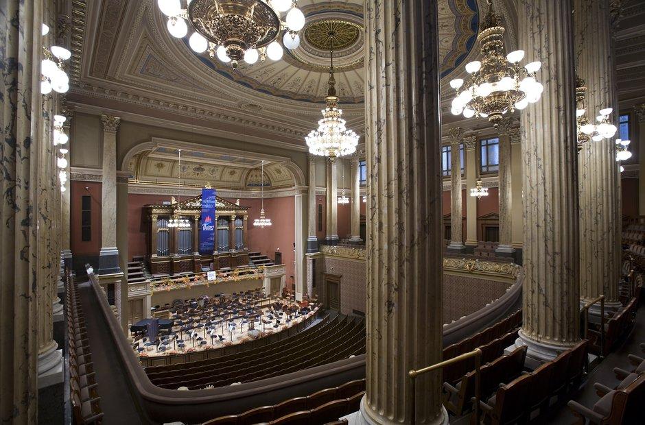 Prague classical music venues Dvorak Concert Hall Rudolfinum