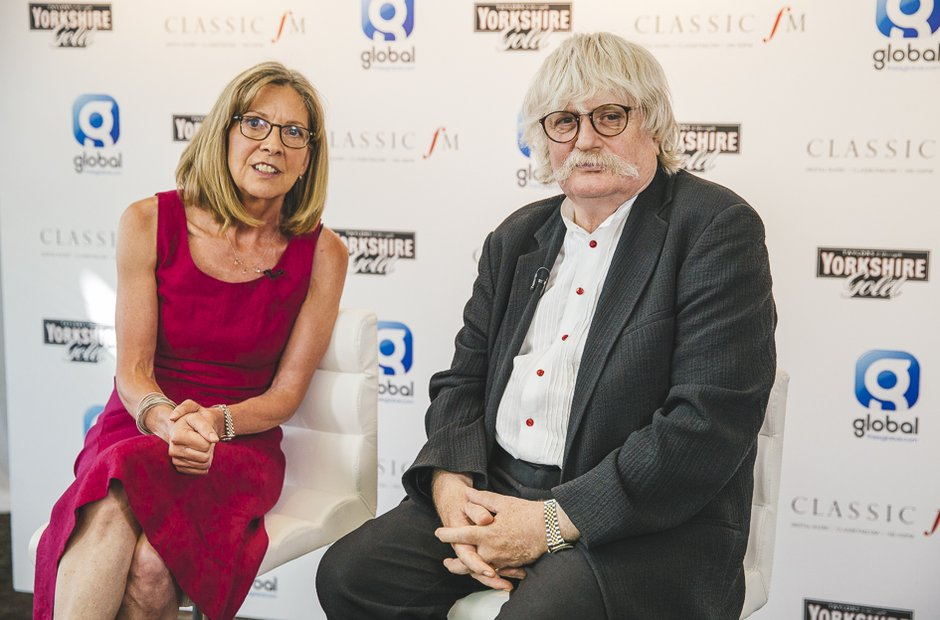 Jane Jones and Sir Karl Jenkins Classicfm Live 201