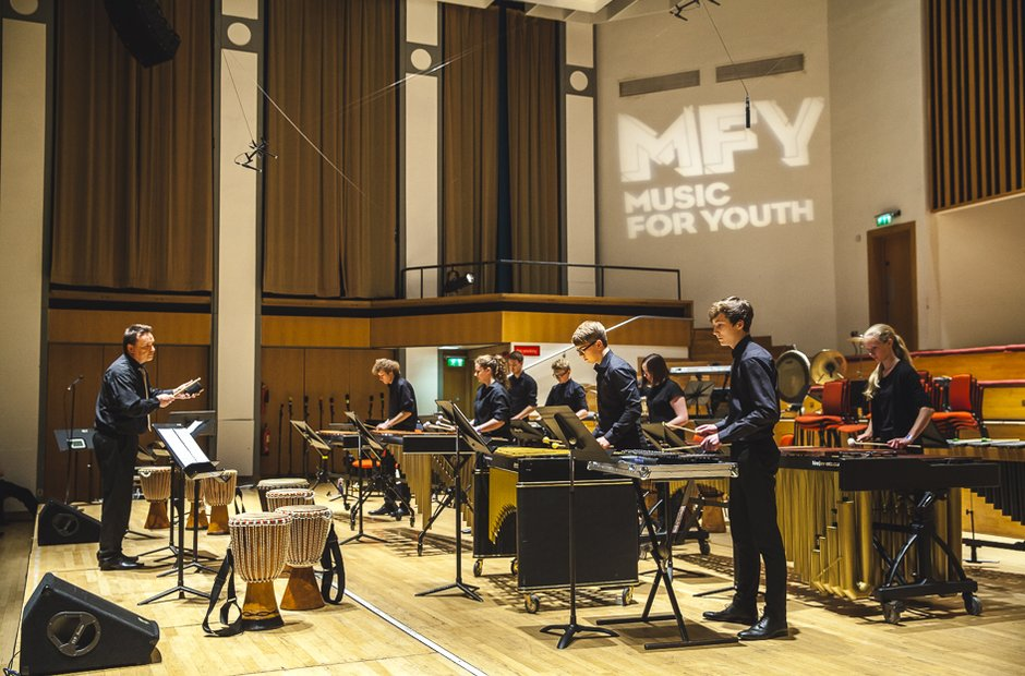 City of Hull Youth Percussion Ensemble
