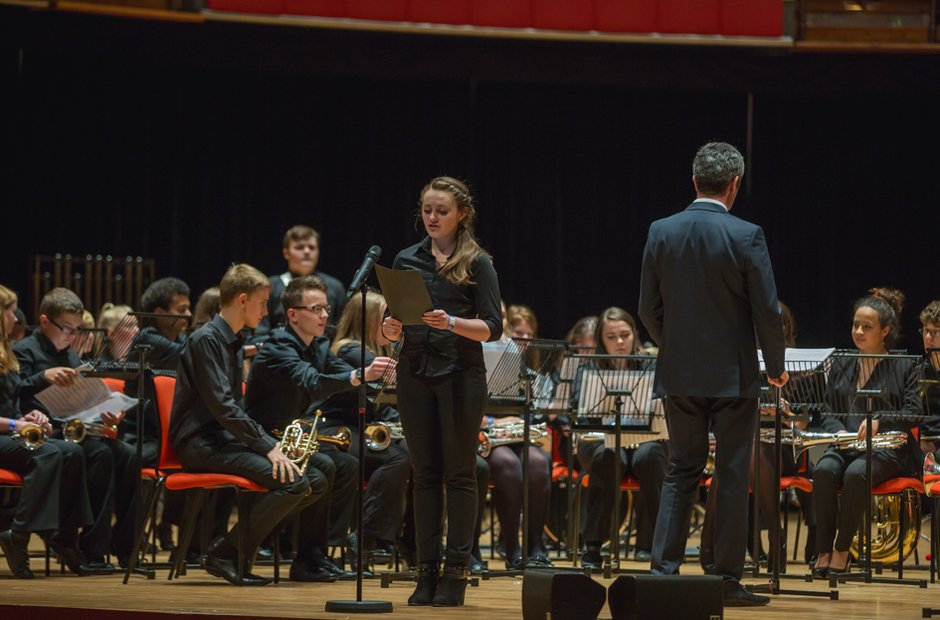 The Blue Coat School Brass Band