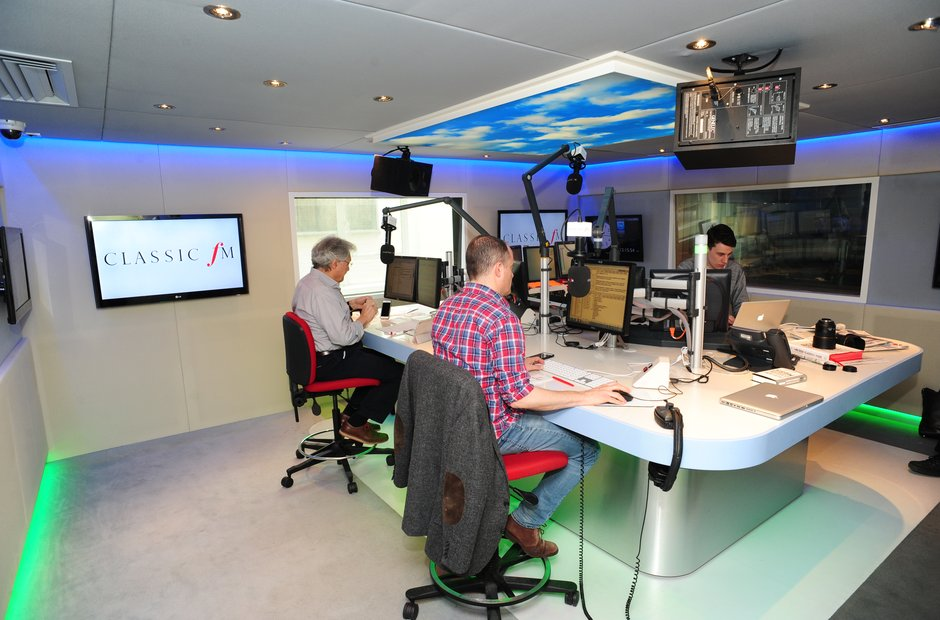Choice magazine visited Classic FM
