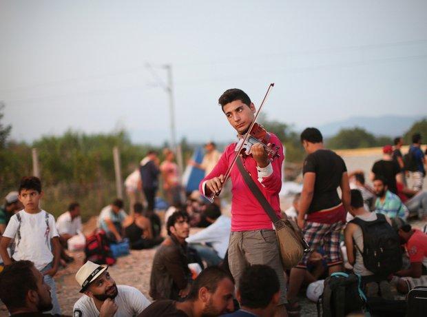 Rami Basisah Syrian Violinist