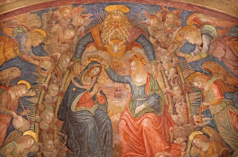 heaven fresco Rome