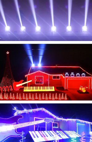 star wars christmas house lights