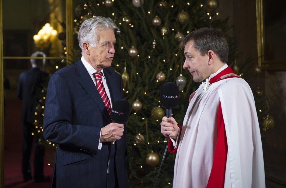 Christmas Buckingham Palace Nicholas Owen Huw Williams Choir of Her Majesty's Chapel Royal