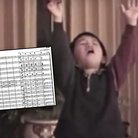 kid conducts mahler