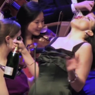 soprano gargles wine instead of singing