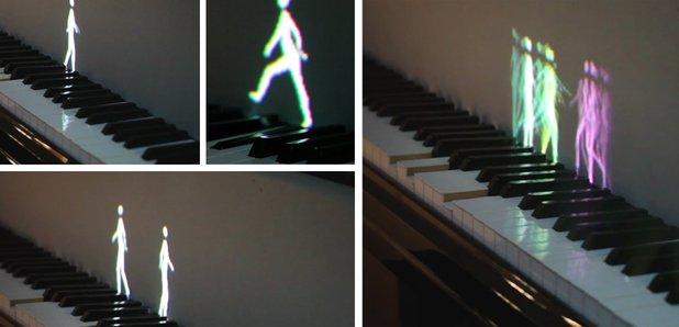 walking piano animations