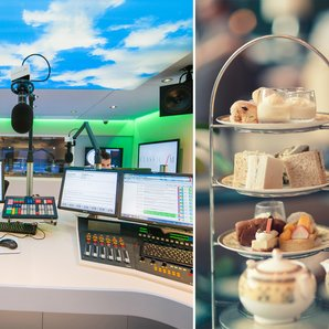 Studio tour and afternoon tea VIP competition