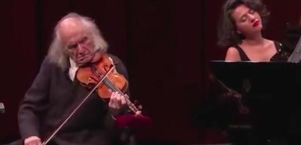 Ivry Gitlis concert at 93