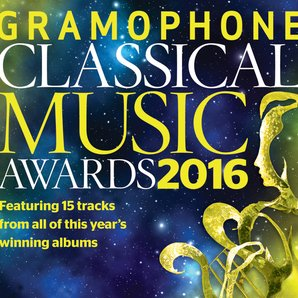 Gramophone Awards 2016 sampler CD cover