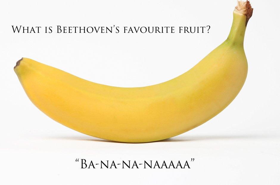 Beethoven's favourite fruit joke