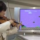 super mario violin