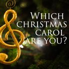 CHRISTMAS carol quiz square